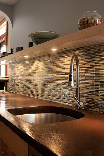 Cork Countertop okay, so you missed the deco poz workshop but your front porch or